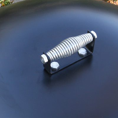 fire pit lid with handle bonfire pit with lid heavy duty steel firepit lid