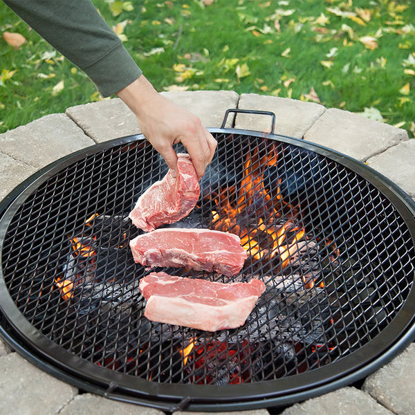 Fire Pit Bbq Grilling Grate Fire Pit Grill Grates Walden Backyards