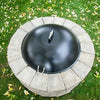 Heavy Duty Fire Pit With Lid High Quality firepit Clean Fire Pit