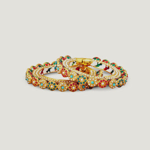 Traditional navaratna bangle