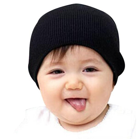 Baby Clothes Unisex Knitted Cotton Beanie Hat
