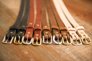 Leather Belt Workshop - Friday, January 8