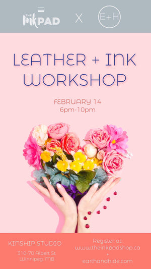 Leather + Ink Belt Workshop