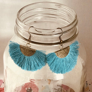 Evocative Collection - Fiesta Fan Fringe Earrings