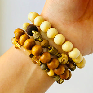 Autumn Mix Stack Bracelet Set