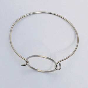 Geometric Collection - Circle Bangle Bracelet