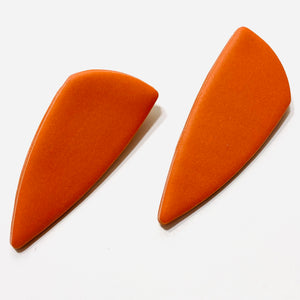 Clay Collection - Nina Earrings in Mandarin