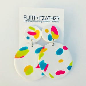 Clay Collection - Retro Earrings