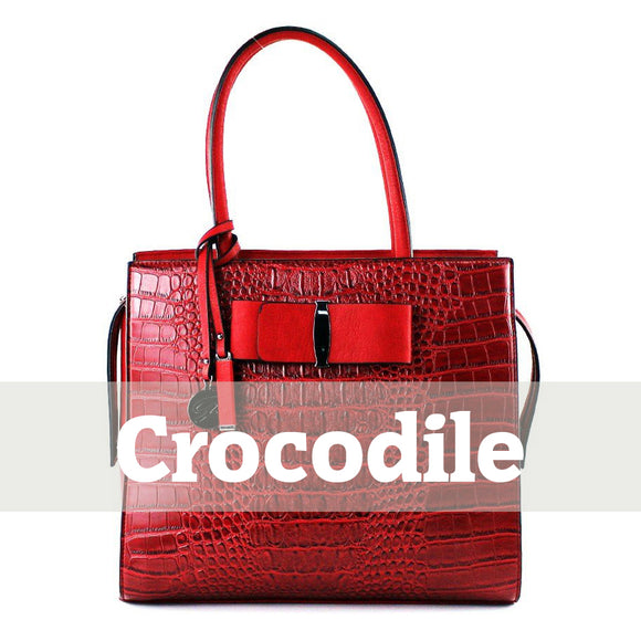 Crocodile Embossed