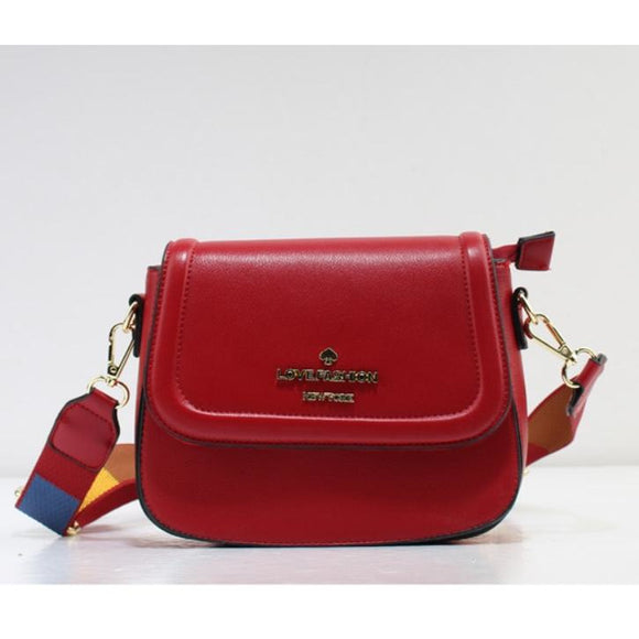 Love Fashion crossbody bag - red