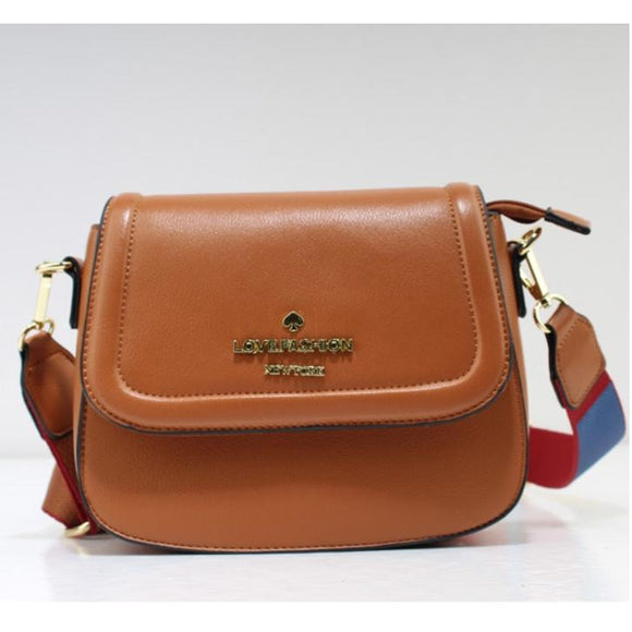 Love Fashion crossbody bag - brown