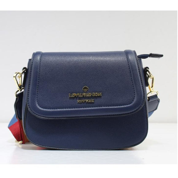 Love Fashion crossbody bag - dark blue