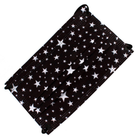 [50 PC] Disposable 3PLY Mask - stars