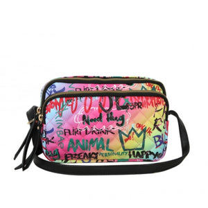 Graffiti crossbody bag - multi 2