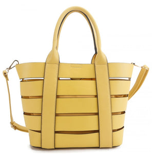 2 in 1 See through bag - yellow