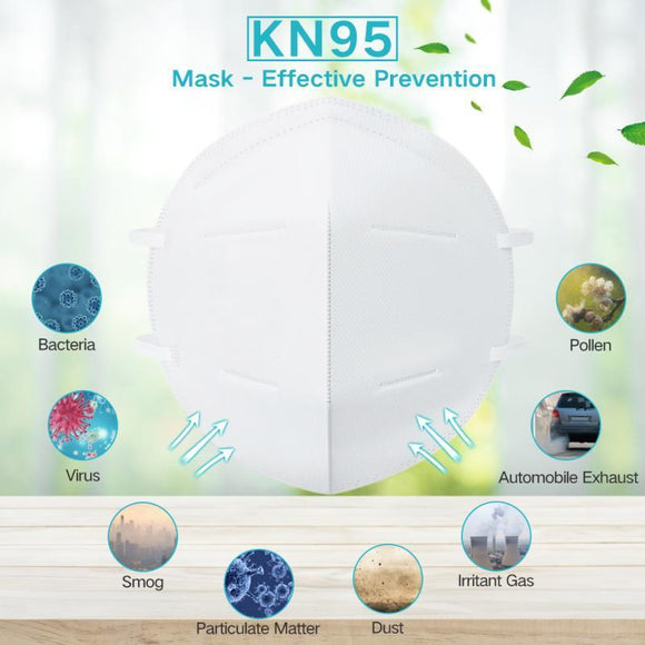 [10PC PACK] KN95 Mask,Pollution Breathable Ear Loop Face Mouth Masks