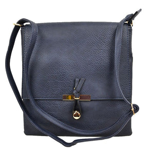 Classic crossbody bag - navy blue