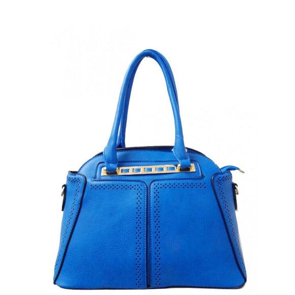 Fashion dome tote - blue