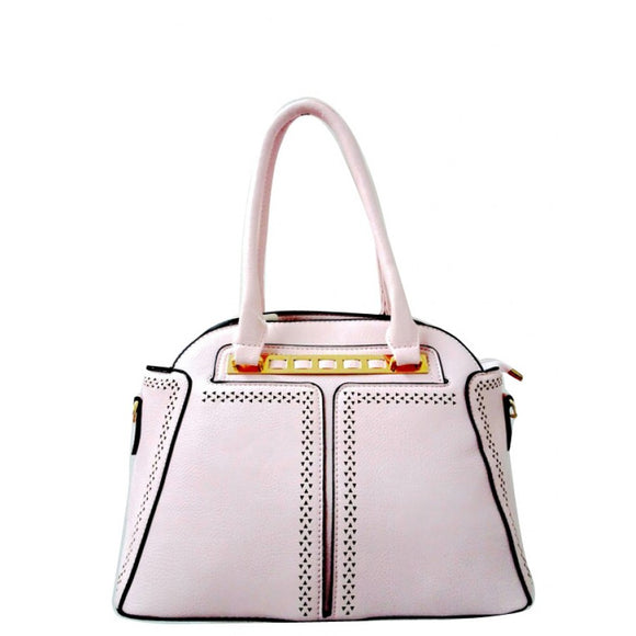 Fashion dome tote - pink