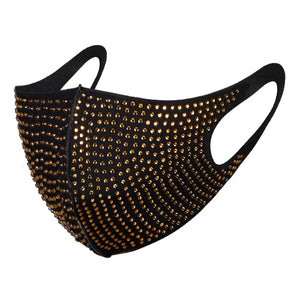 Poly stud mask - Gold