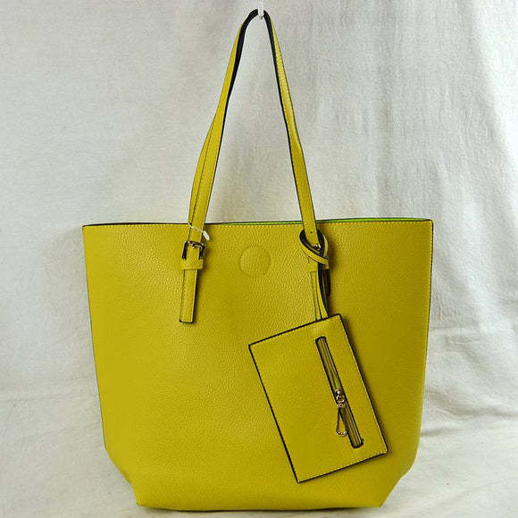 3 in 1 market tote - yellow