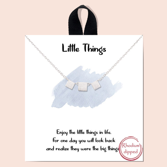 Little things necklace - silver