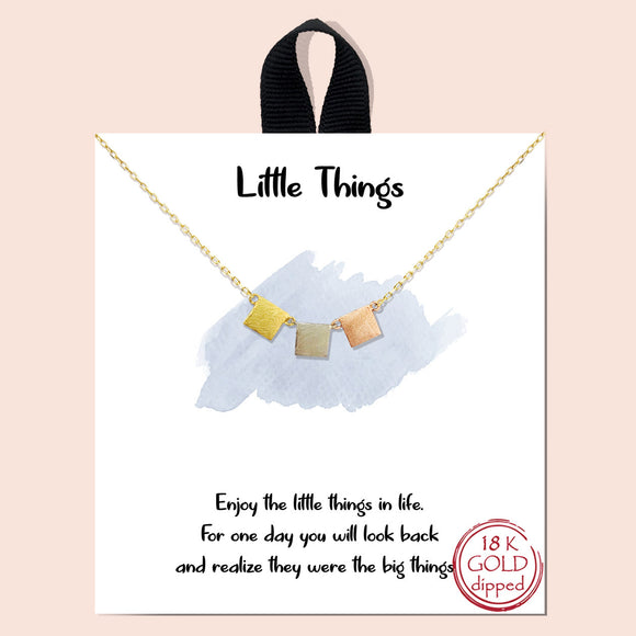 Little things necklace - multi