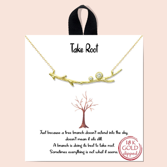 Take Root - gold
