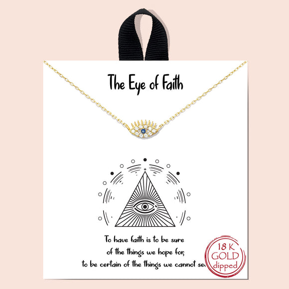 The Eye of Faith - gold