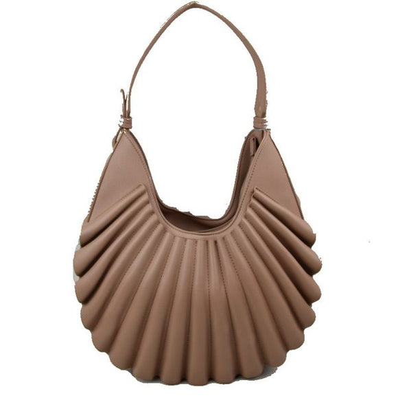 Shell shape hobo - stone