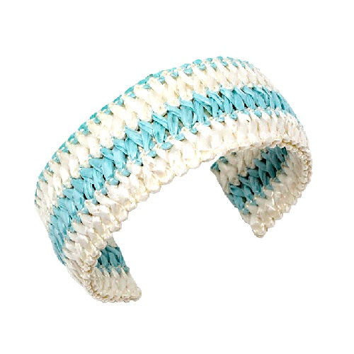 Fashion cuff bracelet - straw like