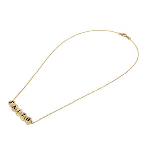 Inspirational necklace set - faith - gold