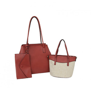 Carry all tote set - brick
