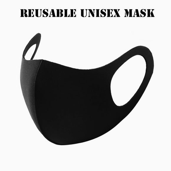Reusable polyester mask