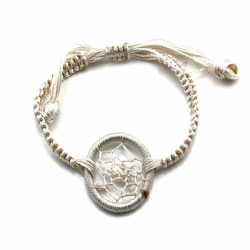 DREAM CATCHER BRACELET - NATURAL