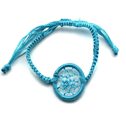 DREAM CATCHER BRACELET - TURQUOISE