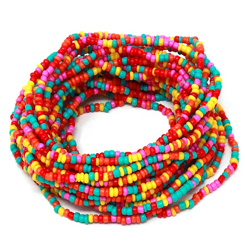 Colorful seed bead bracelet - multi