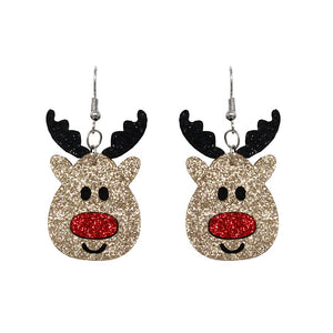 [12PC] Christmas Reindeer earring