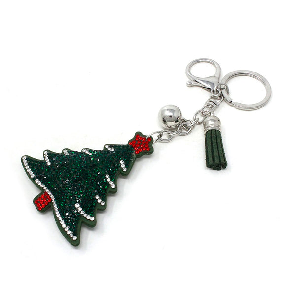 [12PC] Christmas Tree keychain