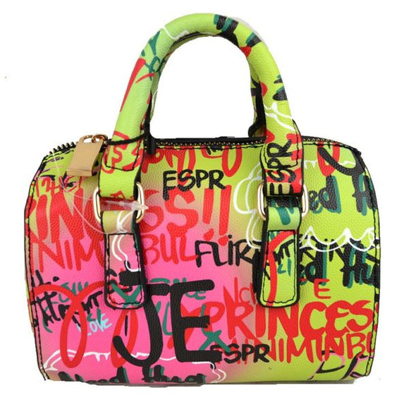 Graffiti boston bag - mt1