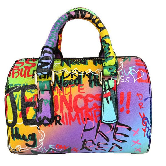 Graffiti boston bag - mt3