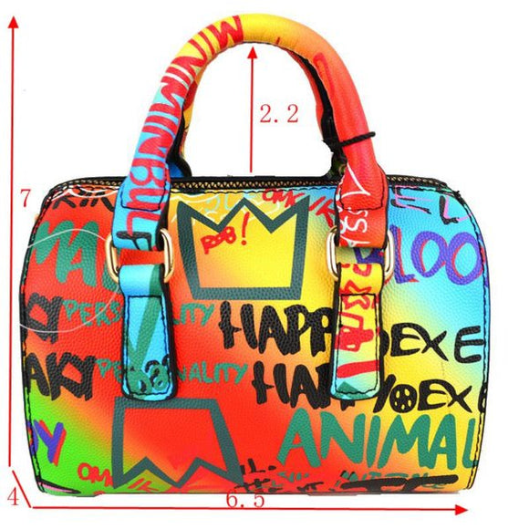 Graffiti boston bag - mt4