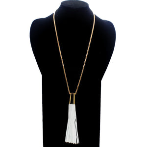 LONG TASSEL NECKLACE ONLY