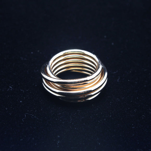ONE SIZE GOLD RING