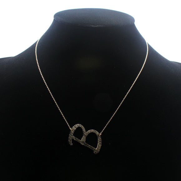"INITIAL ""B"" NECKLACE"