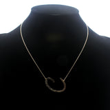 "INITIAL ""C"" NECKLACE"