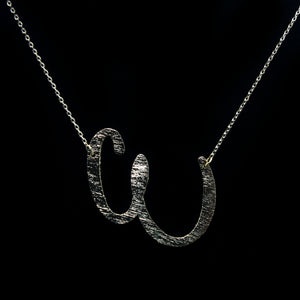 "INITIAL ""E"" NECKLACE"