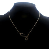 "INITIAL ""L"" NECKLACE"