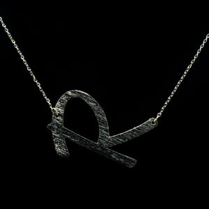 "INITIAL ""R"" NECKLACE"