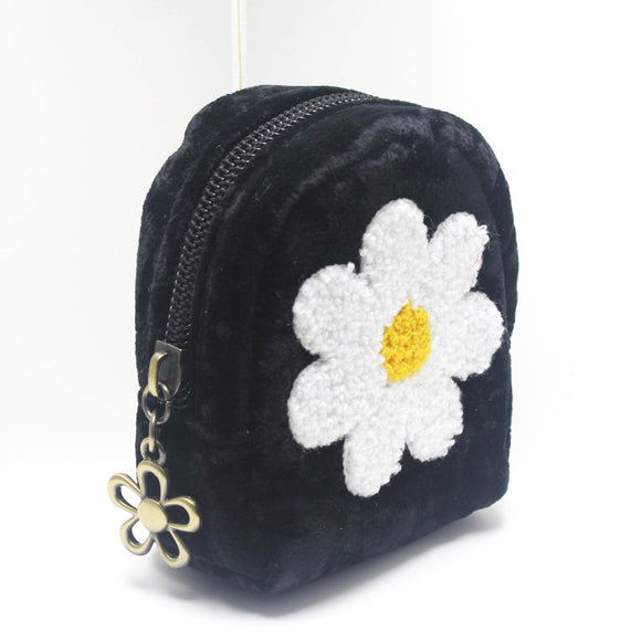 FLOWER BAG KEY CHAIN - Pink Vanilla